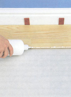 Укладка полов из ламинированных панелей